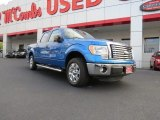 2011 Blue Flame Metallic Ford F150 XLT SuperCrew #71914568
