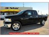 2012 Black Dodge Ram 1500 Lone Star Quad Cab #71914943