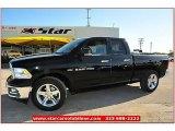 2012 Black Dodge Ram 1500 Lone Star Quad Cab #71914937