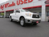 2010 Super White Toyota Tundra Double Cab #71914561