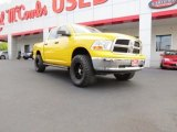 2009 Detonator Yellow Dodge Ram 1500 TRX4 Crew Cab 4x4 #71914560