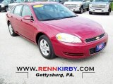 2006 Sport Red Metallic Chevrolet Impala LS #71915028
