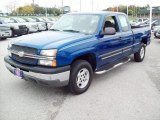 2004 Chevrolet Silverado 1500 LS Extended Cab 4x4 Front 3/4 View