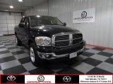 2008 Brilliant Black Crystal Pearl Dodge Ram 1500 Lone Star Edition Quad Cab #71914550