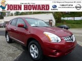 2013 Cayenne Red Nissan Rogue S Special Edition AWD #71980228