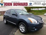 2013 Graphite Blue Nissan Rogue S AWD #71980227
