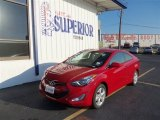 2013 Volcanic Red Hyundai Elantra Coupe GS #71979725