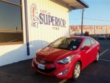 2013 Volcanic Red Hyundai Elantra Coupe GS #71979724