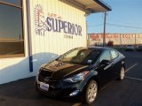 2013 Black Hyundai Elantra Limited #71979722