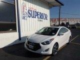 2013 Monaco White Hyundai Elantra Coupe SE #71979720