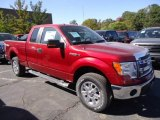 2013 Ruby Red Metallic Ford F150 XLT SuperCab 4x4 #71979818
