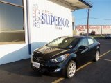 2013 Black Hyundai Elantra Limited #71979697