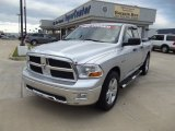 2009 Bright Silver Metallic Dodge Ram 1500 SLT Quad Cab #71980046