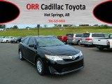2012 Attitude Black Metallic Toyota Camry LE #71980026