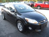 2012 Tuxedo Black Metallic Ford Focus SEL Sedan #71980381