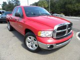2004 Flame Red Dodge Ram 1500 SLT Quad Cab #71980011