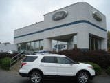 2013 Oxford White Ford Explorer XLT 4WD #71979666