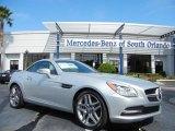 2013 Mercedes-Benz SLK Iridium Silver Metallic