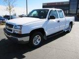 2004 Summit White Chevrolet Silverado 1500 LS Extended Cab 4x4 #71980154