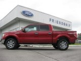 2013 Ruby Red Metallic Ford F150 XLT SuperCrew 4x4 #71979759