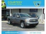 2008 Graystone Metallic Chevrolet Silverado 1500 LT Crew Cab #71980149