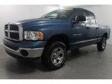2004 Atlantic Blue Pearl Dodge Ram 1500 SLT Quad Cab 4x4 #71979503