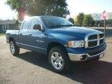 2004 Atlantic Blue Pearl Dodge Ram 1500 SLT Quad Cab 4x4 #71980355