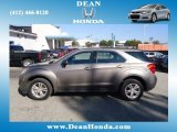 2010 Mocha Steel Metallic Chevrolet Equinox LS #71980245