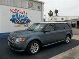 2010 Steel Blue Metallic Ford Flex SE #71979743
