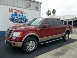 2013 Ruby Red Metallic Ford F150 Lariat SuperCrew 4x4 #71979736