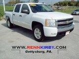 2008 Summit White Chevrolet Silverado 1500 LT Crew Cab 4x4 #71980130