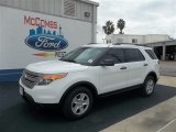 2013 Oxford White Ford Explorer FWD #71979734