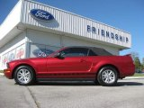 2006 Redfire Metallic Ford Mustang V6 Premium Convertible #72040066