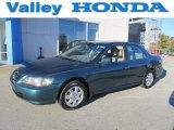 2002 Noble Green Pearl Honda Accord SE Sedan #72039953