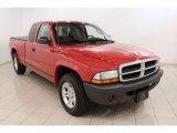 2004 Flame Red Dodge Dakota SXT Club Cab #72040534