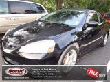 2006 Nighthawk Black Pearl Acura RSX Type S Sports Coupe #72039940