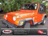 2006 Impact Orange Jeep Wrangler X 4x4 #72039938