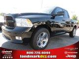 2012 Black Dodge Ram 1500 Express Quad Cab #72040157