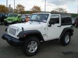2013 Jeep Wrangler Bright White