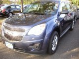 2013 Atlantis Blue Metallic Chevrolet Equinox LS AWD #72039904