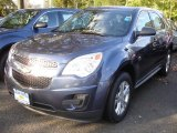2013 Atlantis Blue Metallic Chevrolet Equinox LS AWD #72039903