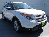 2013 White Platinum Tri-Coat Ford Explorer Limited EcoBoost #72040268