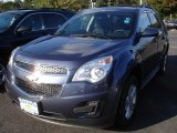 2013 Atlantis Blue Metallic Chevrolet Equinox LT AWD #72039900