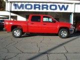 2012 Victory Red Chevrolet Silverado 1500 LT Crew Cab 4x4 #72040135