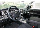 2013 Toyota Tundra TRD Rock Warrior Double Cab 4x4 Black Interior