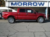 2013 Ruby Red Metallic Ford F150 XLT SuperCrew 4x4 #72040128