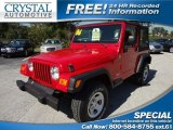 2006 Flame Red Jeep Wrangler SE 4x4 #72040610