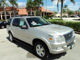 2008 Ford Explorer Silver Birch Metallic