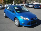 2012 Blue Candy Metallic Ford Focus SE Sport 5-Door #72040707