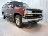 Dark Carmine Red Metallic Chevrolet Silverado 1500 in 2000